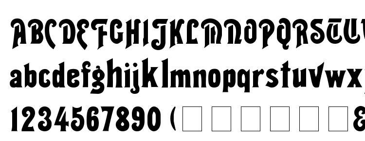 glyphs Thalia Normal font, сharacters Thalia Normal font, symbols Thalia Normal font, character map Thalia Normal font, preview Thalia Normal font, abc Thalia Normal font, Thalia Normal font