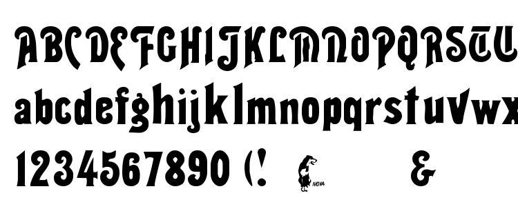 glyphs Thalia font, сharacters Thalia font, symbols Thalia font, character map Thalia font, preview Thalia font, abc Thalia font, Thalia font