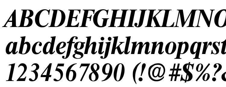 глифы шрифта Thames boldita, символы шрифта Thames boldita, символьная карта шрифта Thames boldita, предварительный просмотр шрифта Thames boldita, алфавит шрифта Thames boldita, шрифт Thames boldita