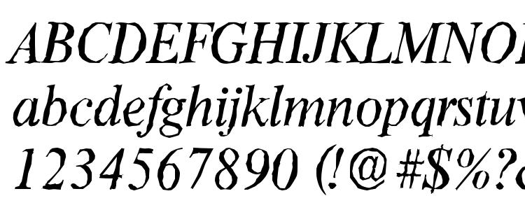 glyphs ThamesAntique Italic font, сharacters ThamesAntique Italic font, symbols ThamesAntique Italic font, character map ThamesAntique Italic font, preview ThamesAntique Italic font, abc ThamesAntique Italic font, ThamesAntique Italic font