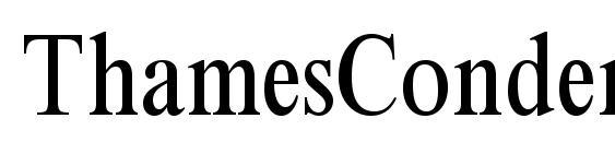 Шрифт ThamesCondensed Regular
