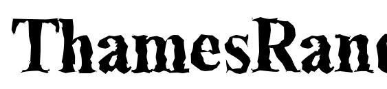 Шрифт ThamesRandom Bold