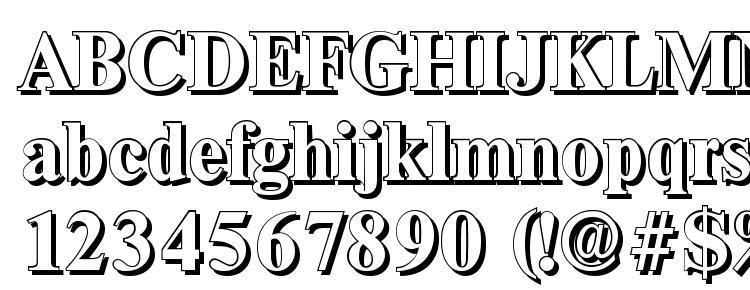 glyphs ThamesShadow Bold font, сharacters ThamesShadow Bold font, symbols ThamesShadow Bold font, character map ThamesShadow Bold font, preview ThamesShadow Bold font, abc ThamesShadow Bold font, ThamesShadow Bold font