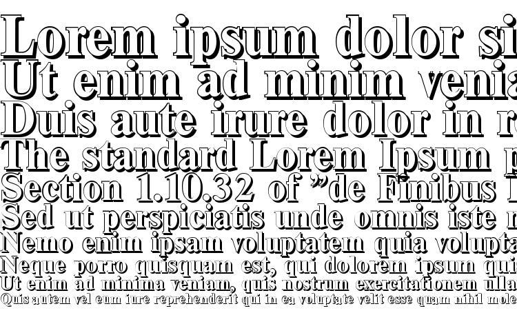 specimens ThamesShadow Bold font, sample ThamesShadow Bold font, an example of writing ThamesShadow Bold font, review ThamesShadow Bold font, preview ThamesShadow Bold font, ThamesShadow Bold font