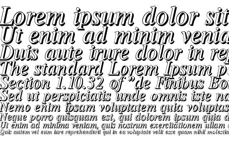 specimens ThamesShadow Italic font, sample ThamesShadow Italic font, an example of writing ThamesShadow Italic font, review ThamesShadow Italic font, preview ThamesShadow Italic font, ThamesShadow Italic font
