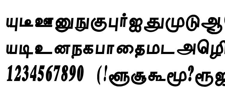 глифы шрифта Tharakai regular, символы шрифта Tharakai regular, символьная карта шрифта Tharakai regular, предварительный просмотр шрифта Tharakai regular, алфавит шрифта Tharakai regular, шрифт Tharakai regular