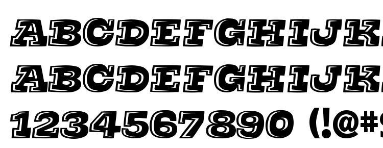 глифы шрифта Thats Super, символы шрифта Thats Super, символьная карта шрифта Thats Super, предварительный просмотр шрифта Thats Super, алфавит шрифта Thats Super, шрифт Thats Super