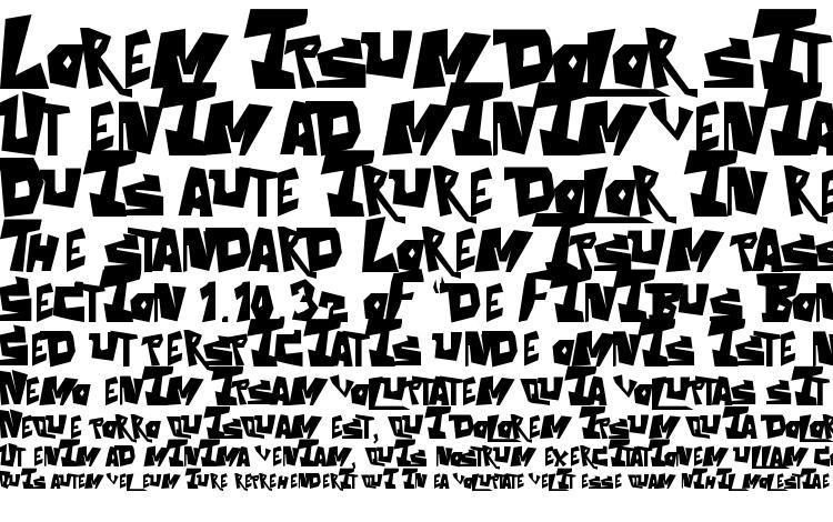 specimens ThE Aquabats! font, sample ThE Aquabats! font, an example of writing ThE Aquabats! font, review ThE Aquabats! font, preview ThE Aquabats! font, ThE Aquabats! font