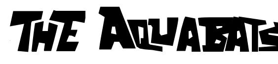 ThE Aquabats! Font