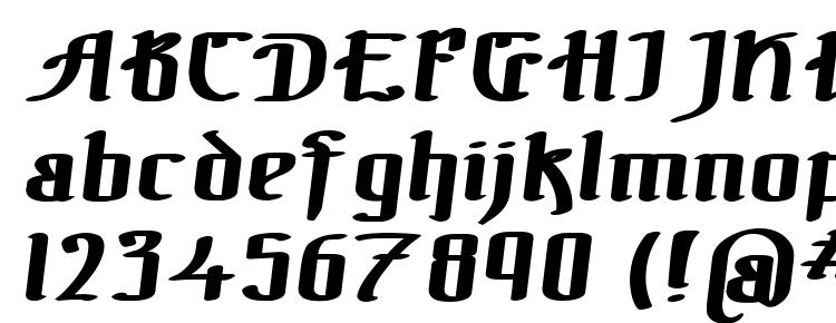 глифы шрифта The black bloc bold italic, символы шрифта The black bloc bold italic, символьная карта шрифта The black bloc bold italic, предварительный просмотр шрифта The black bloc bold italic, алфавит шрифта The black bloc bold italic, шрифт The black bloc bold italic