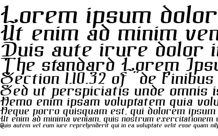 specimens The black bloc italic font, sample The black bloc italic font, an example of writing The black bloc italic font, review The black bloc italic font, preview The black bloc italic font, The black bloc italic font
