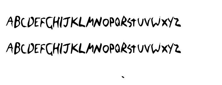 глифы шрифта The Blick Font, символы шрифта The Blick Font, символьная карта шрифта The Blick Font, предварительный просмотр шрифта The Blick Font, алфавит шрифта The Blick Font, шрифт The Blick Font