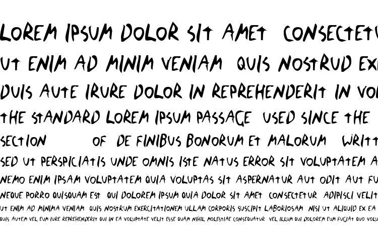 образцы шрифта The Blick Font, образец шрифта The Blick Font, пример написания шрифта The Blick Font, просмотр шрифта The Blick Font, предосмотр шрифта The Blick Font, шрифт The Blick Font