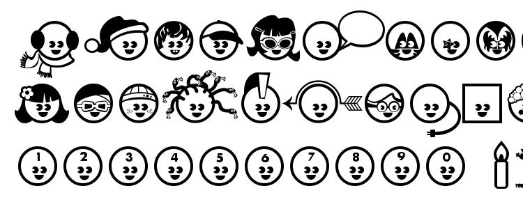 glyphs The Kids font, сharacters The Kids font, symbols The Kids font, character map The Kids font, preview The Kids font, abc The Kids font, The Kids font