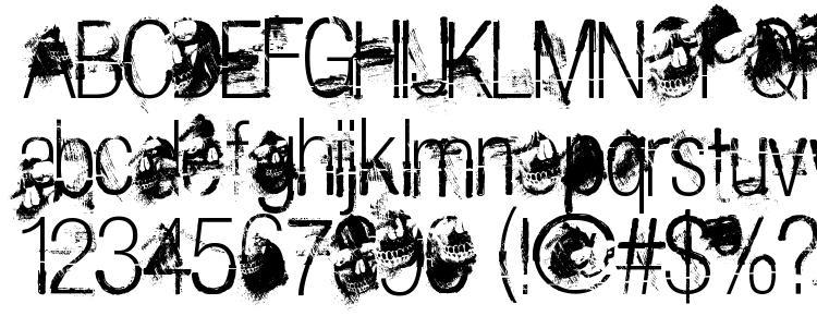 glyphs The Last Soundtrack font, сharacters The Last Soundtrack font, symbols The Last Soundtrack font, character map The Last Soundtrack font, preview The Last Soundtrack font, abc The Last Soundtrack font, The Last Soundtrack font