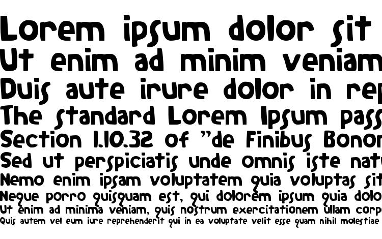 specimens The Rifleman font, sample The Rifleman font, an example of writing The Rifleman font, review The Rifleman font, preview The Rifleman font, The Rifleman font
