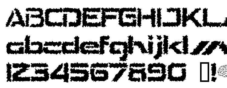 глифы шрифта The Shakes, символы шрифта The Shakes, символьная карта шрифта The Shakes, предварительный просмотр шрифта The Shakes, алфавит шрифта The Shakes, шрифт The Shakes