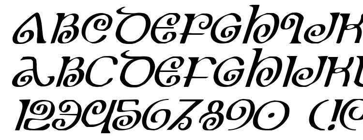 glyphs The Shire Italic font, сharacters The Shire Italic font, symbols The Shire Italic font, character map The Shire Italic font, preview The Shire Italic font, abc The Shire Italic font, The Shire Italic font