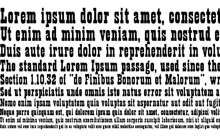 specimens Theatre Normal font, sample Theatre Normal font, an example of writing Theatre Normal font, review Theatre Normal font, preview Theatre Normal font, Theatre Normal font