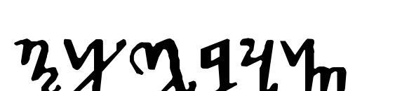 Шрифт Theban