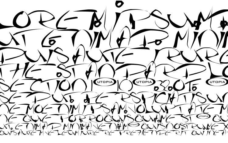 specimens Thegf font, sample Thegf font, an example of writing Thegf font, review Thegf font, preview Thegf font, Thegf font
