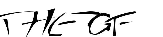 Шрифт Thegf