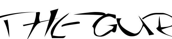 Thegurufont font, free Thegurufont font, preview Thegurufont font