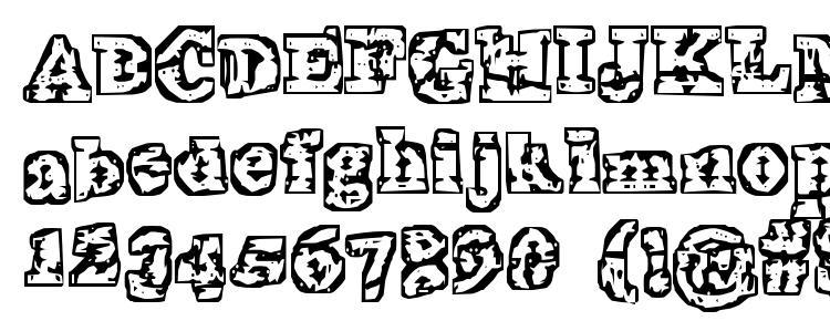 глифы шрифта Theinterz, символы шрифта Theinterz, символьная карта шрифта Theinterz, предварительный просмотр шрифта Theinterz, алфавит шрифта Theinterz, шрифт Theinterz