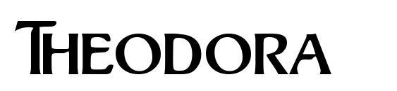 Шрифт Theodora