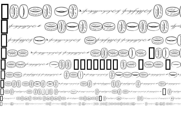 образцы шрифта Theonering, образец шрифта Theonering, пример написания шрифта Theonering, просмотр шрифта Theonering, предосмотр шрифта Theonering, шрифт Theonering