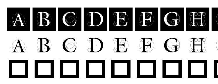 глифы шрифта Theroots, символы шрифта Theroots, символьная карта шрифта Theroots, предварительный просмотр шрифта Theroots, алфавит шрифта Theroots, шрифт Theroots