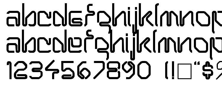glyphs THERSA Regular font, сharacters THERSA Regular font, symbols THERSA Regular font, character map THERSA Regular font, preview THERSA Regular font, abc THERSA Regular font, THERSA Regular font