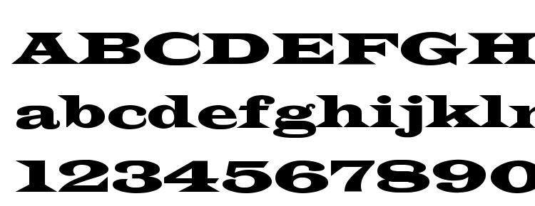 glyphs Thespian wide font, сharacters Thespian wide font, symbols Thespian wide font, character map Thespian wide font, preview Thespian wide font, abc Thespian wide font, Thespian wide font