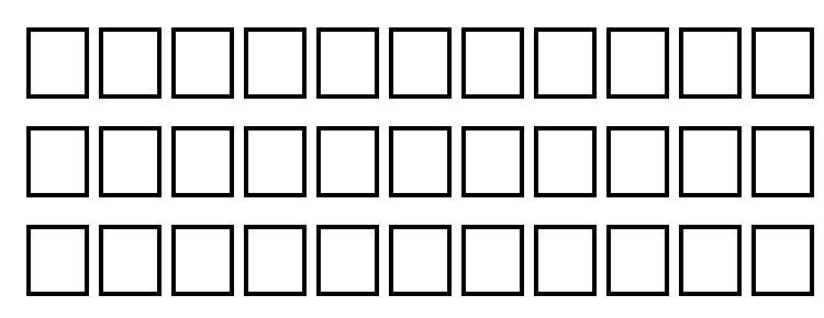 glyphs Thewall regular font, сharacters Thewall regular font, symbols Thewall regular font, character map Thewall regular font, preview Thewall regular font, abc Thewall regular font, Thewall regular font
