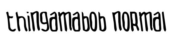 Thingamabob normal Font