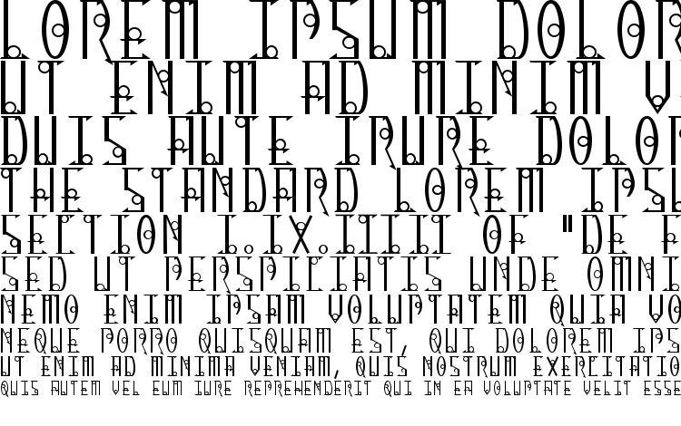 specimens Thirteen O Clock font, sample Thirteen O Clock font, an example of writing Thirteen O Clock font, review Thirteen O Clock font, preview Thirteen O Clock font, Thirteen O Clock font