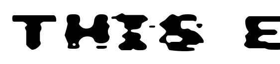 This Emulation font, free This Emulation font, preview This Emulation font