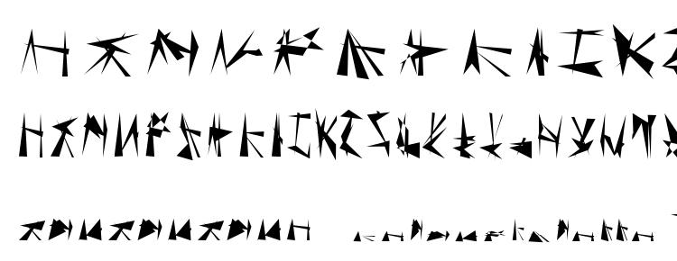 glyphs Tholian Regular font, сharacters Tholian Regular font, symbols Tholian Regular font, character map Tholian Regular font, preview Tholian Regular font, abc Tholian Regular font, Tholian Regular font