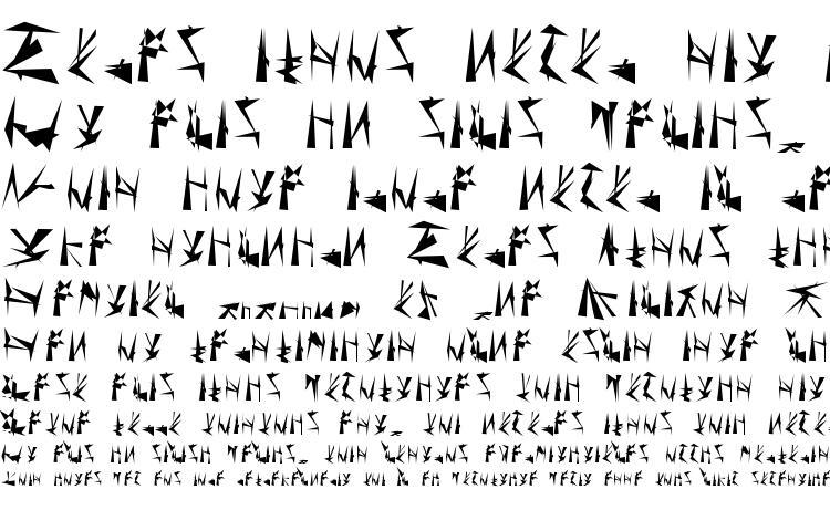 образцы шрифта Tholian Regular, образец шрифта Tholian Regular, пример написания шрифта Tholian Regular, просмотр шрифта Tholian Regular, предосмотр шрифта Tholian Regular, шрифт Tholian Regular