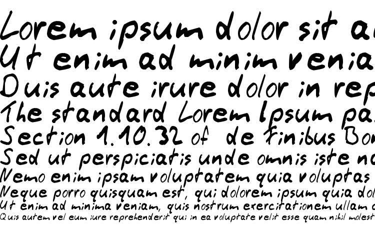 specimens Thommy Handwrite font, sample Thommy Handwrite font, an example of writing Thommy Handwrite font, review Thommy Handwrite font, preview Thommy Handwrite font, Thommy Handwrite font