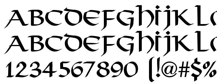 glyphs Thong Regular DB font, сharacters Thong Regular DB font, symbols Thong Regular DB font, character map Thong Regular DB font, preview Thong Regular DB font, abc Thong Regular DB font, Thong Regular DB font