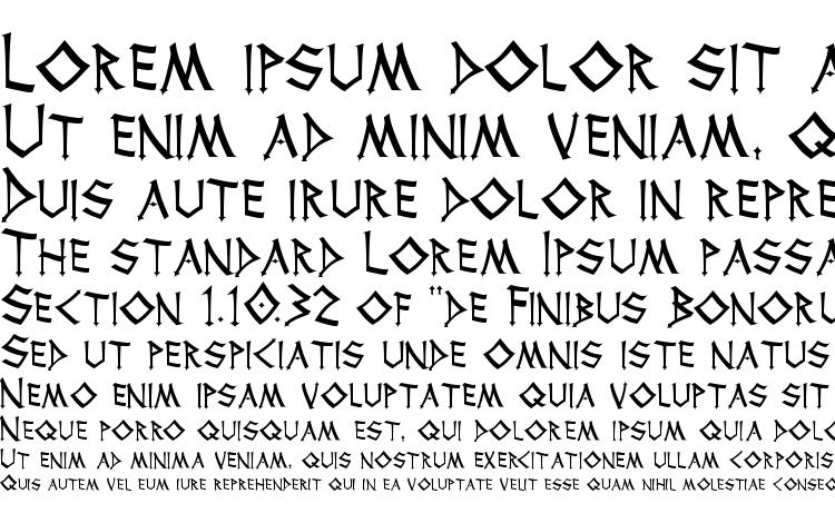 specimens Thor font, sample Thor font, an example of writing Thor font, review Thor font, preview Thor font, Thor font