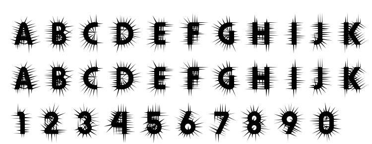глифы шрифта Thorn, символы шрифта Thorn, символьная карта шрифта Thorn, предварительный просмотр шрифта Thorn, алфавит шрифта Thorn, шрифт Thorn
