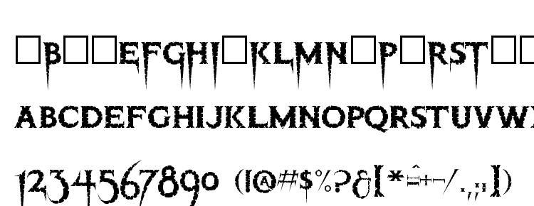 глифы шрифта Thriller regular, символы шрифта Thriller regular, символьная карта шрифта Thriller regular, предварительный просмотр шрифта Thriller regular, алфавит шрифта Thriller regular, шрифт Thriller regular