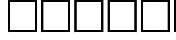 Шрифт Thulth Bold Italic