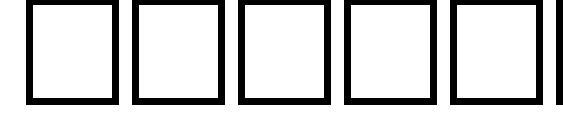 Шрифт Thulth Italic