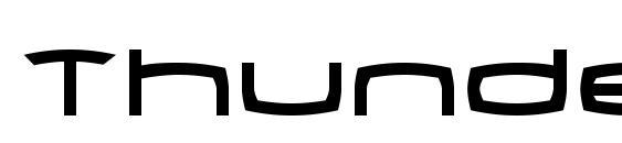 Thunder2 Font