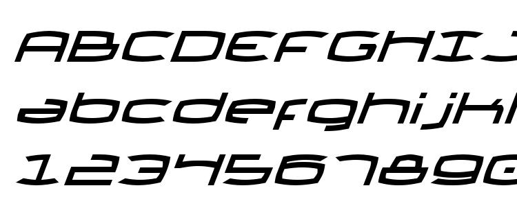 глифы шрифта Thunder2i, символы шрифта Thunder2i, символьная карта шрифта Thunder2i, предварительный просмотр шрифта Thunder2i, алфавит шрифта Thunder2i, шрифт Thunder2i