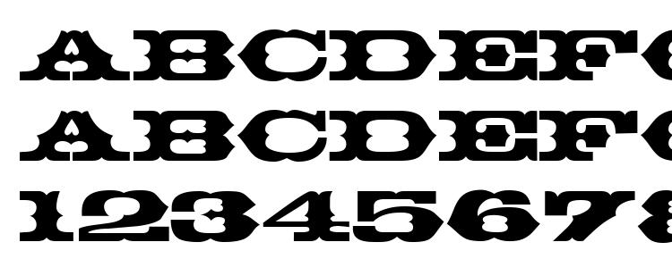 глифы шрифта Thunderbird Regular DB, символы шрифта Thunderbird Regular DB, символьная карта шрифта Thunderbird Regular DB, предварительный просмотр шрифта Thunderbird Regular DB, алфавит шрифта Thunderbird Regular DB, шрифт Thunderbird Regular DB