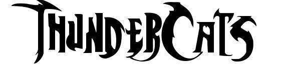 ThunderCats Font